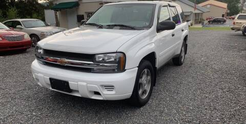 2006 Chevrolet TrailBlazer for sale at JM Auto Sales in Shenandoah PA
