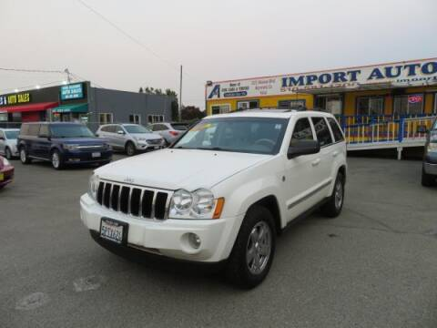 2005 Jeep Grand Cherokee for sale at Import Auto World in Hayward CA