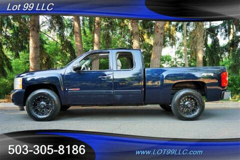 2007 Chevrolet Silverado 1500 for sale at LOT 99 LLC in Milwaukie OR