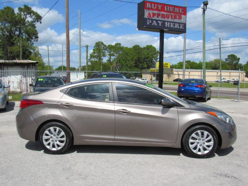 2011 Hyundai Elantra for sale at Checkered Flag Auto Sales EAST in Lakeland FL