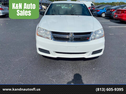2014 Dodge Avenger for sale at K&N Auto Sales in Tampa FL