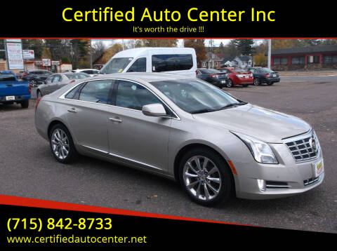 2014 Cadillac XTS for sale at Certified Auto Center Inc in Wausau WI