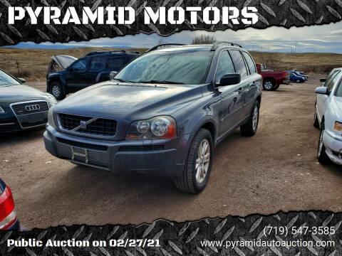 2005 Volvo XC90 for sale at PYRAMID MOTORS - Pueblo Lot in Pueblo CO