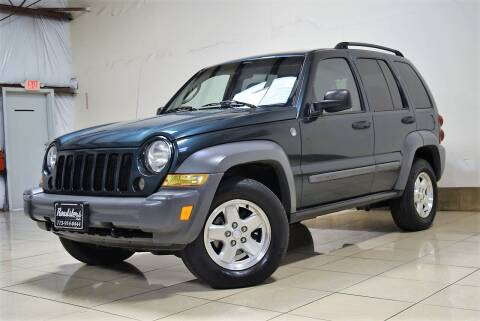 2005 Jeep Liberty for sale at ROADSTERS AUTO in Houston TX