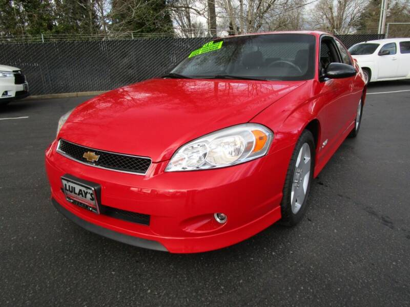 2006 Chevrolet Monte Carlo for sale at LULAY'S CAR CONNECTION in Salem OR