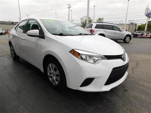 2014 Toyota Corolla for sale at D & T Auto Sales, Inc. in Henderson KY
