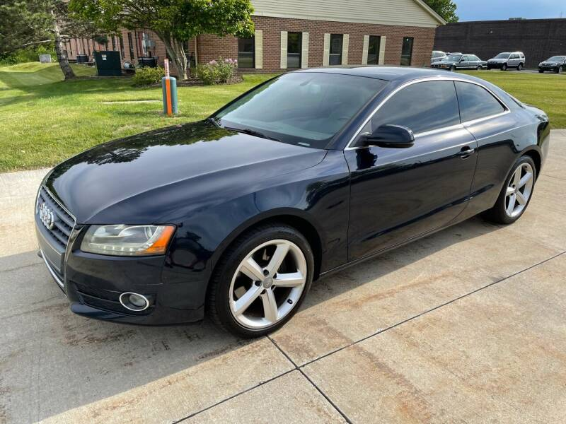 2010 Audi A5 for sale at Renaissance Auto Network in Warrensville Heights OH