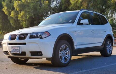 2006 BMW X3 for sale at ALL CREDIT AUTO SALES in San Jose CA