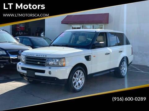 2007 Land Rover Range Rover Sport for sale at LT Motors in Rancho Cordova CA