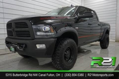 2013 RAM Ram Pickup 2500 for sale at Route 21 Auto Sales in Canal Fulton OH