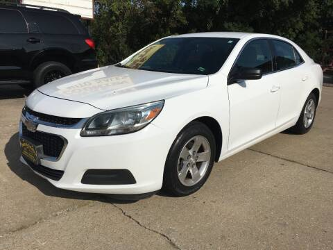 2015 Chevrolet Malibu for sale at Town and Country Auto Sales in Jefferson City MO