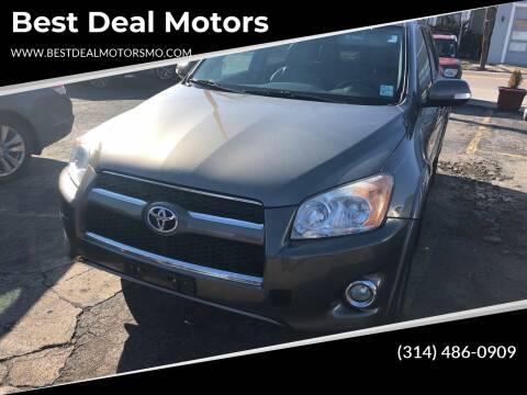 2011 Toyota RAV4 for sale at Best Deal Motors in Saint Charles MO