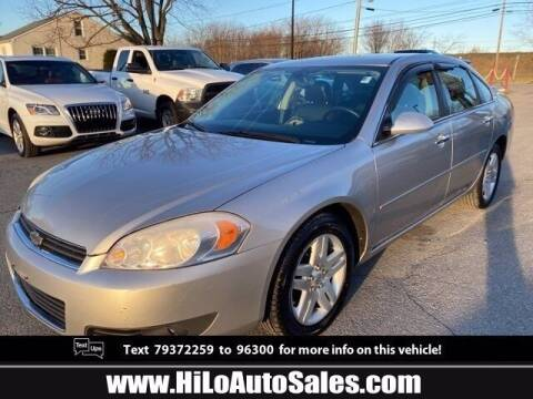 2007 Chevrolet Impala for sale at Hi-Lo Auto Sales in Frederick MD
