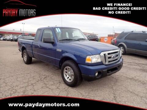 2011 Ford Ranger for sale at Payday Motors in Wichita And Topeka KS