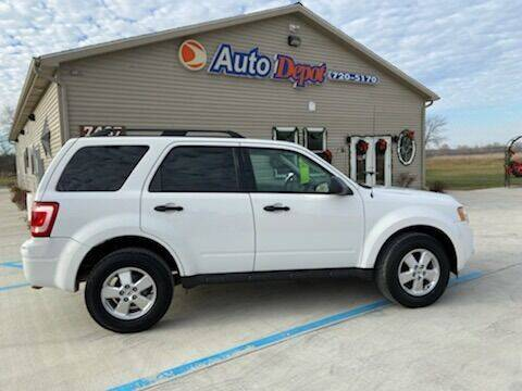 2010 Ford Escape for sale at The Auto Depot in Mount Morris MI