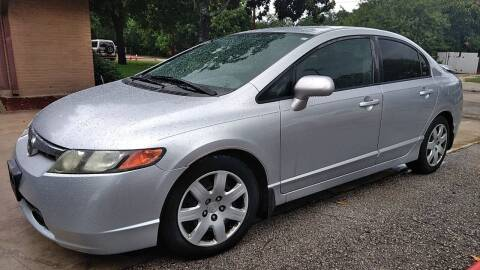 2008 Honda Civic for sale at John 3:16 Motors in San Antonio TX
