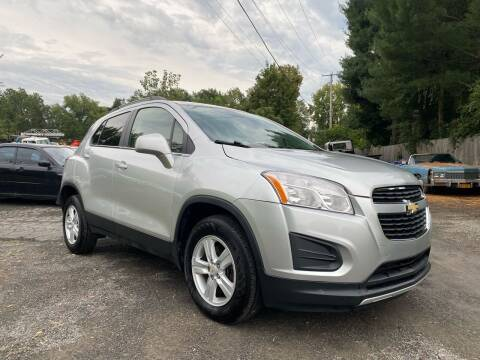 2016 Chevrolet Trax for sale at D & M Auto Sales & Repairs INC in Kerhonkson NY