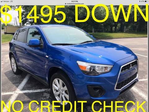 2015 Mitsubishi Outlander Sport for sale at Cooks Motors in Westampton NJ