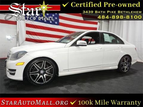 2013 Mercedes-Benz C-Class for sale at STAR AUTO MALL 512 in Bethlehem PA