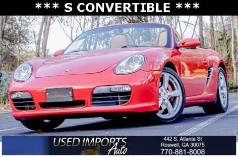 2008 Porsche Boxster for sale at Used Imports Auto in Roswell GA