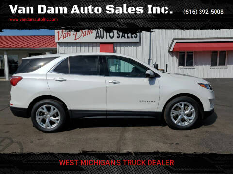 2018 Chevrolet Equinox for sale at Van Dam Auto Sales Inc. in Holland MI
