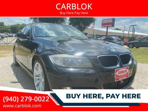 2011 BMW 3 Series for sale at CARBLOK in Lewisville TX