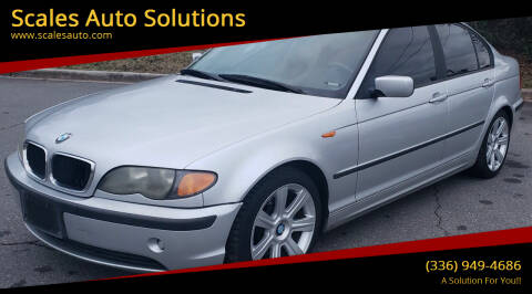 2003 BMW 3 Series for sale at Scales Auto Solutions in Madison NC
