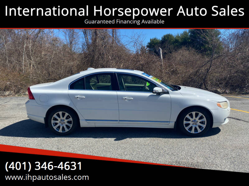 2010 Volvo S80 for sale at International Horsepower Auto Sales in Warwick RI