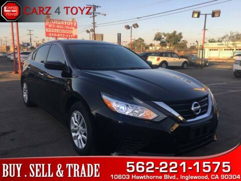 2016 Nissan Altima for sale at Carz 4 Toyz in Inglewood CA
