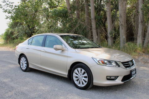 2013 Honda Accord for sale at Northwest Premier Auto Sales in West Richland WA