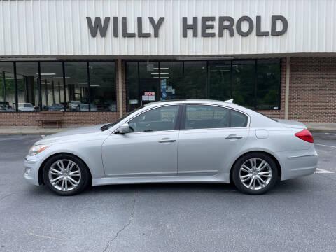 2012 Hyundai Genesis for sale at Willy Herold Automotive in Columbus GA