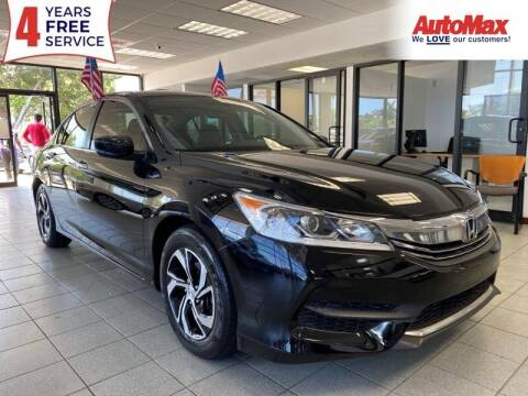 2016 Honda Accord for sale at Auto Max in Hollywood FL