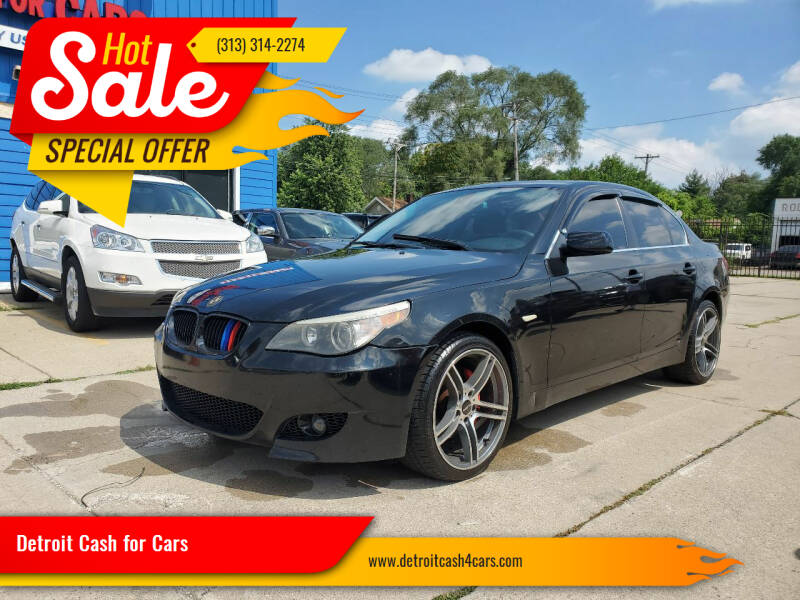 2007 BMW 5 Series for sale at Detroit Cash for Cars in Warren MI