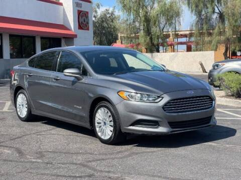 2013 Ford Fusion Hybrid for sale at Brown & Brown Wholesale in Mesa AZ