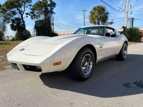 1973 Chevrolet Corvette C3 Stingray for sale at American Classics Autotrader LLC in Pompano Beach FL