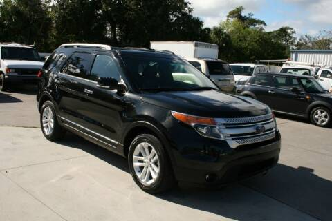 2014 Ford Explorer for sale at Mike's Trucks & Cars in Port Orange FL