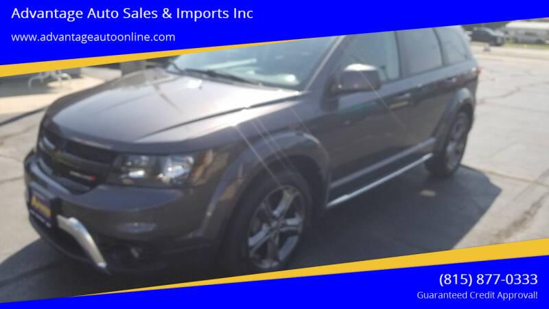 2015 Dodge Journey for sale at Advantage Auto Sales & Imports Inc in Loves Park IL