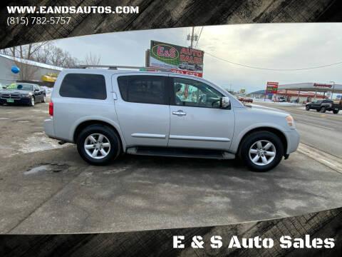 2012 Nissan Armada for sale at E & S Auto Sales in Crest Hill IL