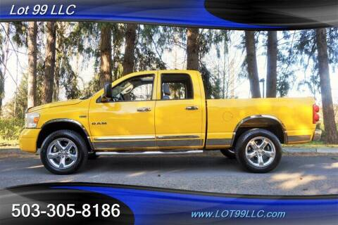 2008 Dodge Ram Pickup 1500 for sale at LOT 99 LLC in Milwaukie OR