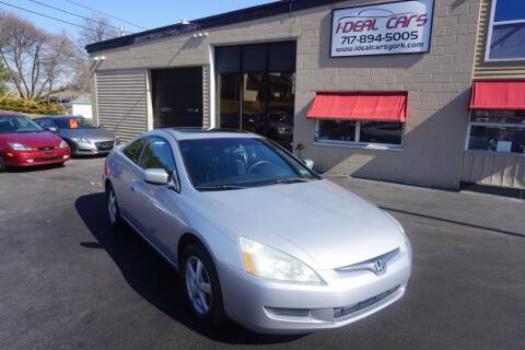 2003 Honda Accord for sale at I-Deal Cars LLC in York PA