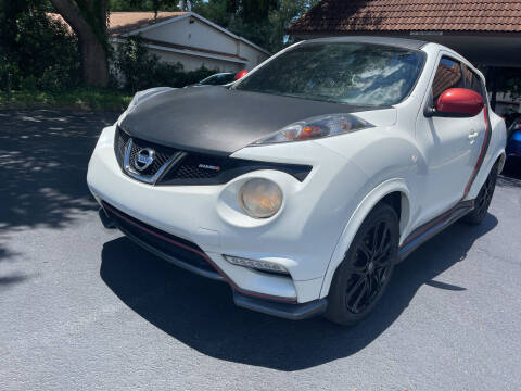 2014 Nissan JUKE for sale at Elite Florida Cars in Tavares FL