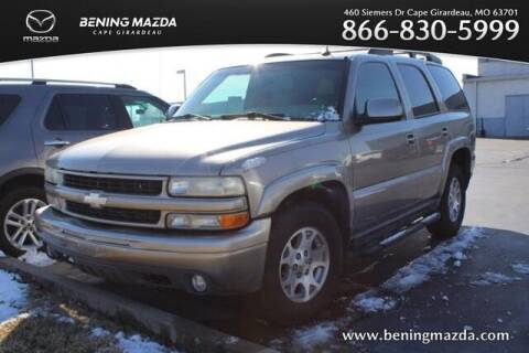 2003 Chevrolet Tahoe for sale at Bening Mazda in Cape Girardeau MO