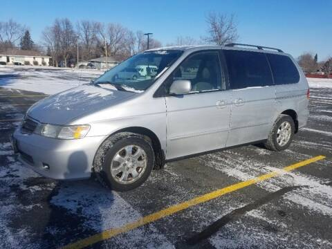2002 Honda Odyssey for sale at Capital Fleet  & Remarketing  Auto Finance in Columbia Heights MN