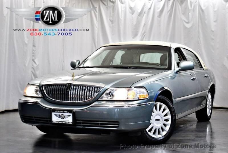 2005 Lincoln Town Car for sale at ZONE MOTORS in Addison IL