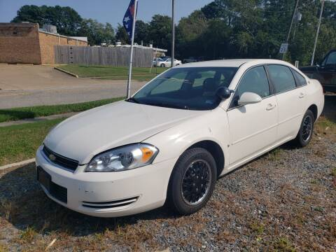 2007 Chevrolet Impala for sale at Americar in Virginia Beach VA