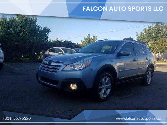 2014 Subaru Outback for sale at Falcon Auto Sports LLC in Murray UT
