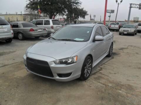 2012 Mitsubishi Lancer for sale at Talisman Motor City in Houston TX