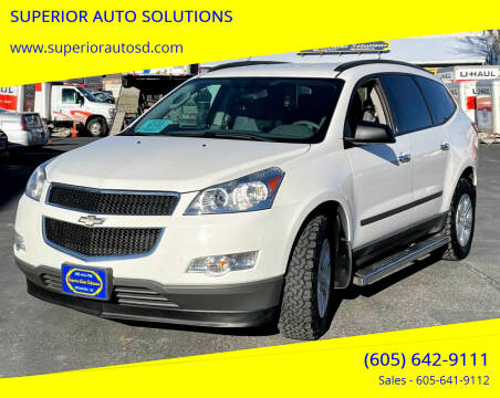 2012 Chevrolet Traverse for sale at SUPERIOR AUTO SOLUTIONS in Spearfish SD