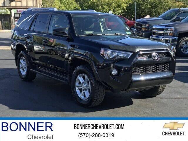 2018 Toyota 4Runner for sale at Bonner Chevrolet in Kingston PA