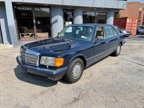 1989 Mercedes-Benz 560-Class for sale at PA Motorcars in Conshohocken PA